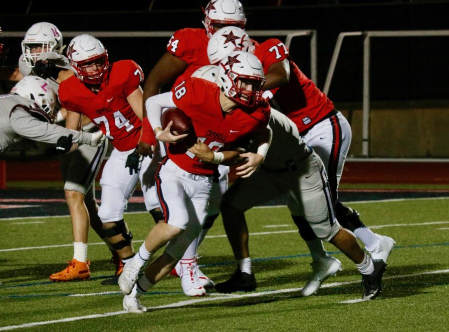 Farmers tread over Cowboys in third game of district play
