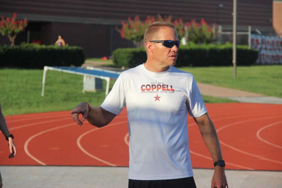 Jason Spoor, who had been serving as assistant coach, has been named new boys golf coach at Coppell High School, replacing Chris Stricker. Spoor has coached cross country at CHS since last year, and Gary Beyer was named assistant golf coach. Photo by Sally Parampottil.
