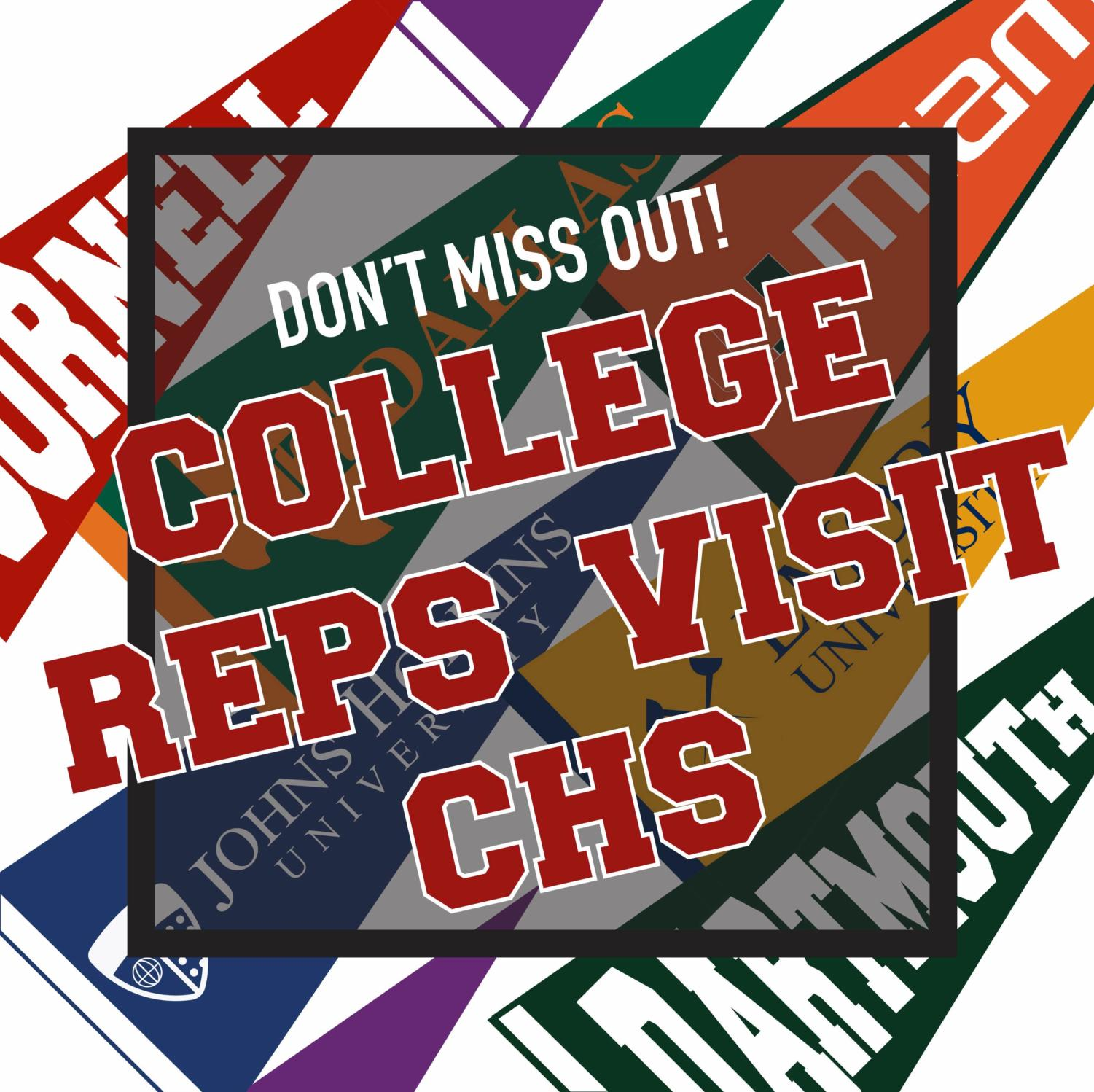 Throughout the year, various college representatives visit Coppell High School to help students decide which colleges to apply for to aid them in the essay writing process and more. Visit Naviance to see the full schedule and sign up for upcoming visits.
