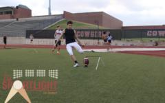 The Sportlight: Schrock overcomes eye disease, pursues love of football