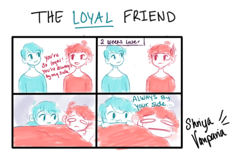 "The Sidekick Strip #10 – ""Type of Friends: The Loyal One"""