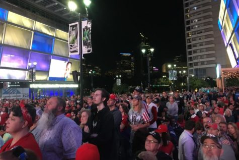 Trump supporters overflow American Airlines Center for Dallas rally