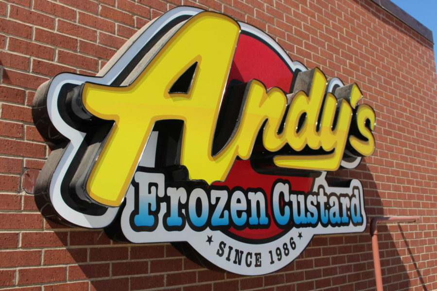 Andy's Frozen Custard opened its newest location in Coppell on Oct. 2 on Sandy Lake Road. The custard store is not a walk-in establishment, as customers can enjoy their custard outside on picnic tables and benches.