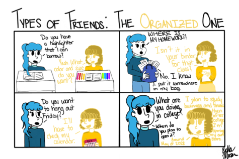 "The Sidekick Strip #11- ""Type of Friends: The Organized One"""