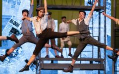 "Theater department stuns audience with ""Newsies"" choreography"