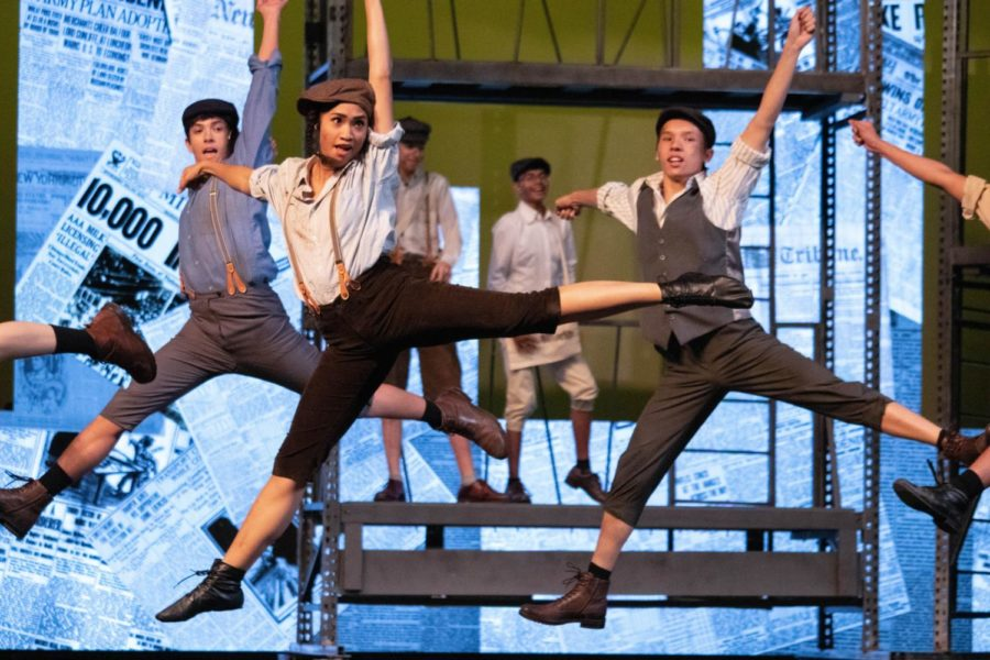 Coppell+High+School+senior+Angeli+Smith+plays+Race+in+the+CHS+fall+musical.+%E2%80%9CNewsies%E2%80%9D+is+showing+November+1%2C+2%2C+3%2C+9+and+10+with+Fridays+and+Saturdays+showing+at+7%3A30+and+Sunday+matinees+at+2%3A30.