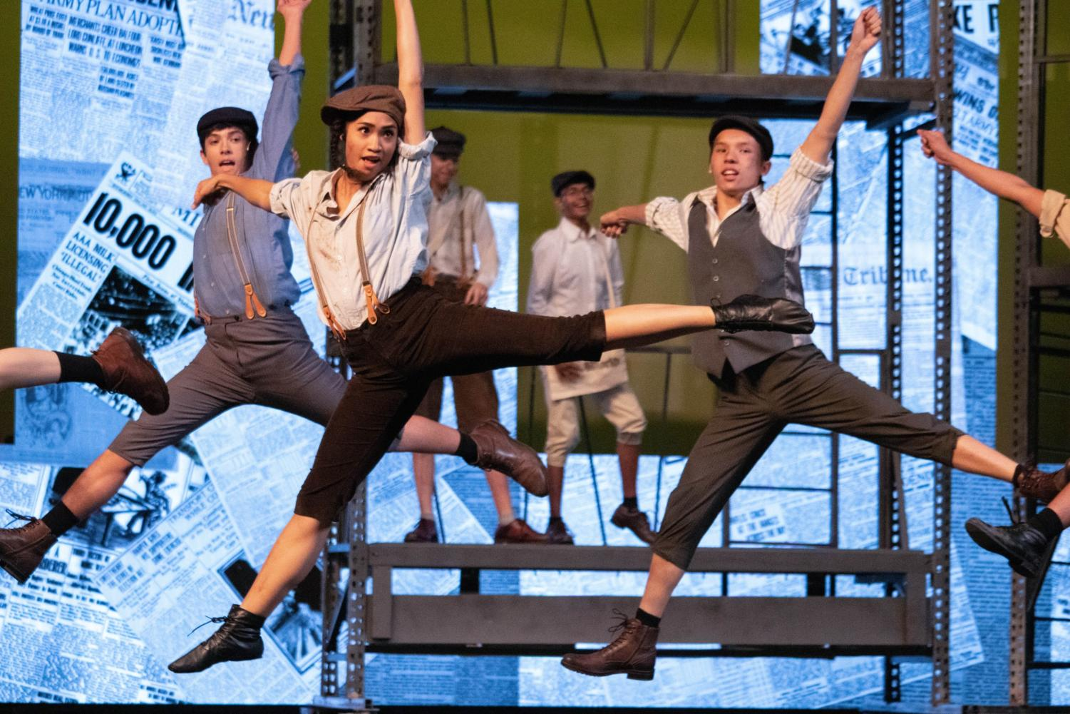 "Coppell High School senior Angeli Smith plays Race in the CHS fall musical. ""Newsies"" is showing November 1, 2, 3, 9 and 10 with Fridays and Saturdays showing at 7:30 and Sunday matinees at 2:30."