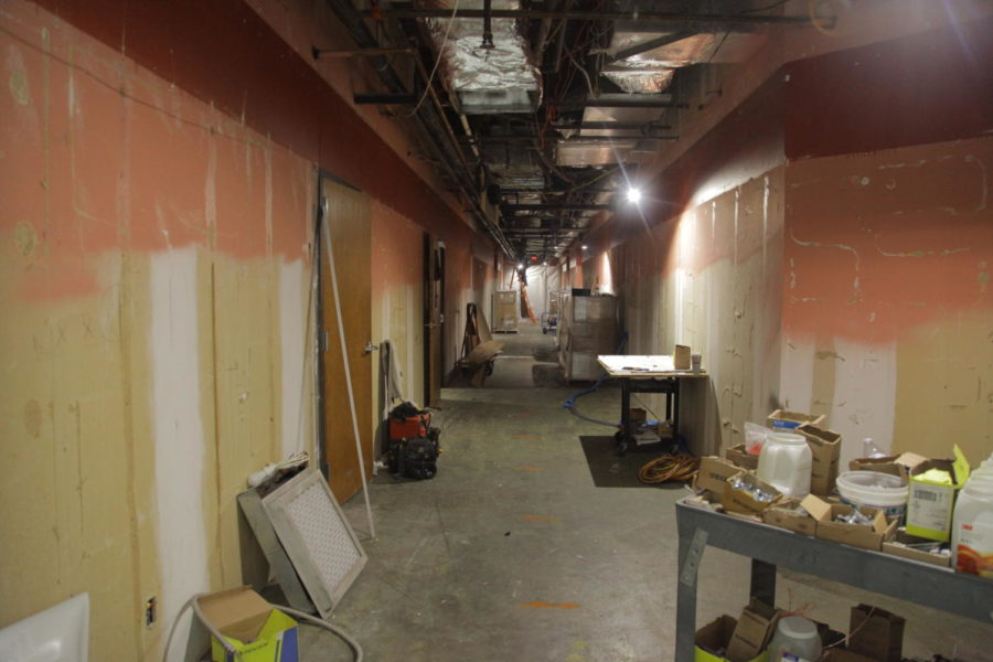 Coppell+High+School+A+hall+is+currently+undergoing+renovations.+CHS+has+made+many+drastic+changes+throughout+the+school+year.%0A