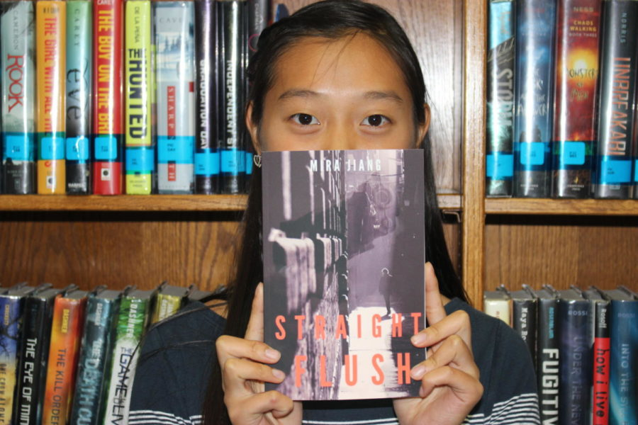 Coppell+High+School+sophomore+Mira+Jiang+published+her+debut+novel+Straight+Flush+on+Oct+14.+Her+book+is+about+two+high+school+students+who+must+find+a+way+to+balance+school+and+their+lives+as+spies+and+is+available+on+Amazon+for+%249.99.+