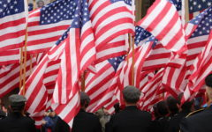 Marching through the cold: Veterans Day Parade attendees honor brave actions of the past