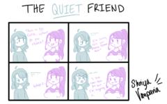 "The Sidekick Strip #13 – ""Type of Friends: The Quiet Friend"""