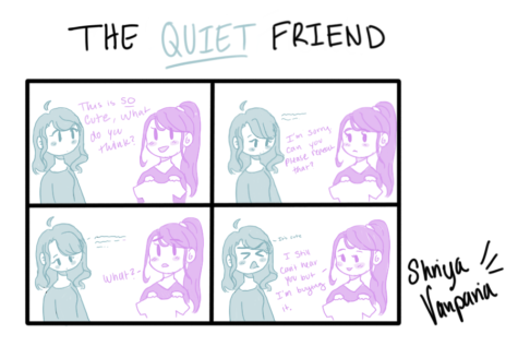 "The Sidekick Strip #13 – ""Type of Friends: The Quiet Friend"""