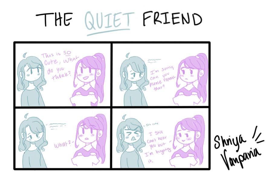 The Sidekick Strip #13 - Type of Friends: The Quiet Friend