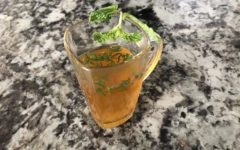 Turmeric mint is a classic tea recipe for when you are sick. The strong flavor from tumeric and coolness from mint will help relieve your sore throat and other gastrointestinal ailments