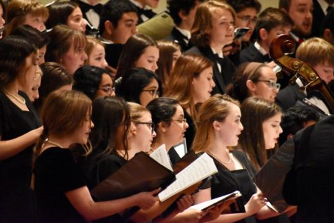 TMEA All-Region Honor choirs host a night full of performances