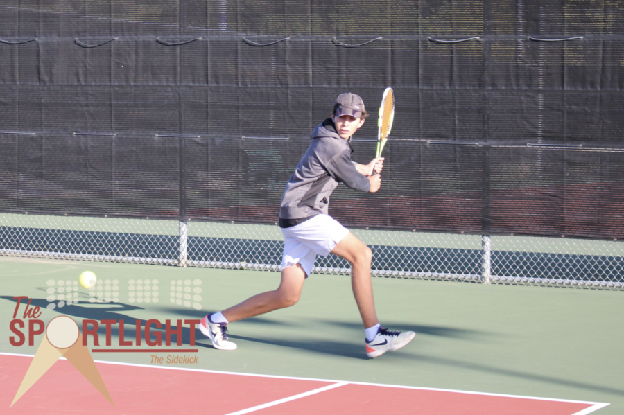 The Sportlight: Olvera one of two freshmen on JV1 tennis, strives to succeed