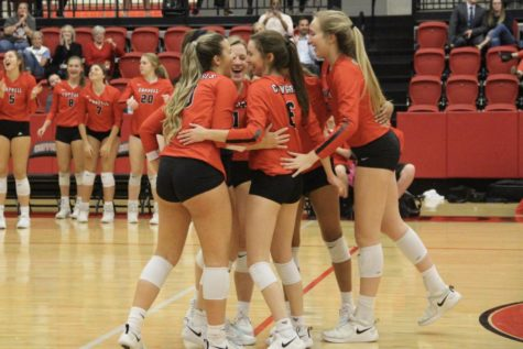 Volleyball entering playoffs against state ranked Byron Nelson in bi-district match