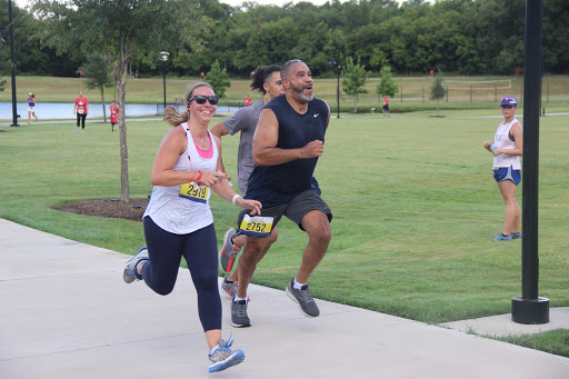 Race participants run in the Fighting Autoimmune Disease 5k on Sept. 3 at Andy Brown Park East. The Gobble Wobble 5K and Fun Run is at Andy Brown Park East on Saturday at 9 a.m.