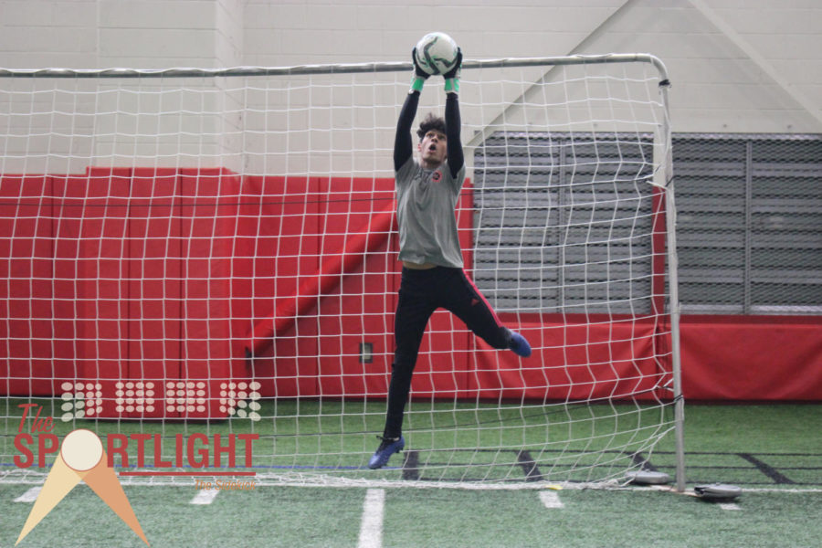 The Sportlight: Patel utilizes ambidextrous nature with strong leadership to excel as goalkeeper