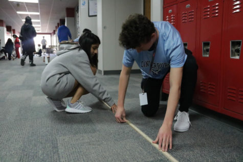 Physics class experiments with rolling carts
