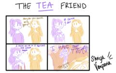 """The Sidekick Strip #15 – """"Type of Friends: The Tea Friend"""""""