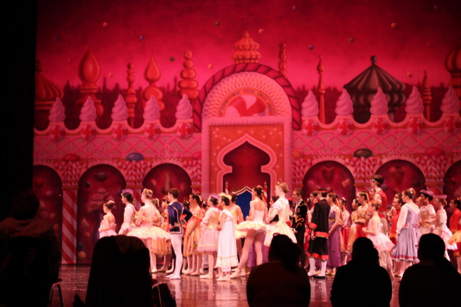 """Dancers from the Ballet Academy of Texas listen to instructions during the Dec. 4 rehearsal of """"The Nutcracker"""". The Ballet Academy of Texas will be performing its annual production of """"The Nutcracker"""" on Saturday and Sunday."""