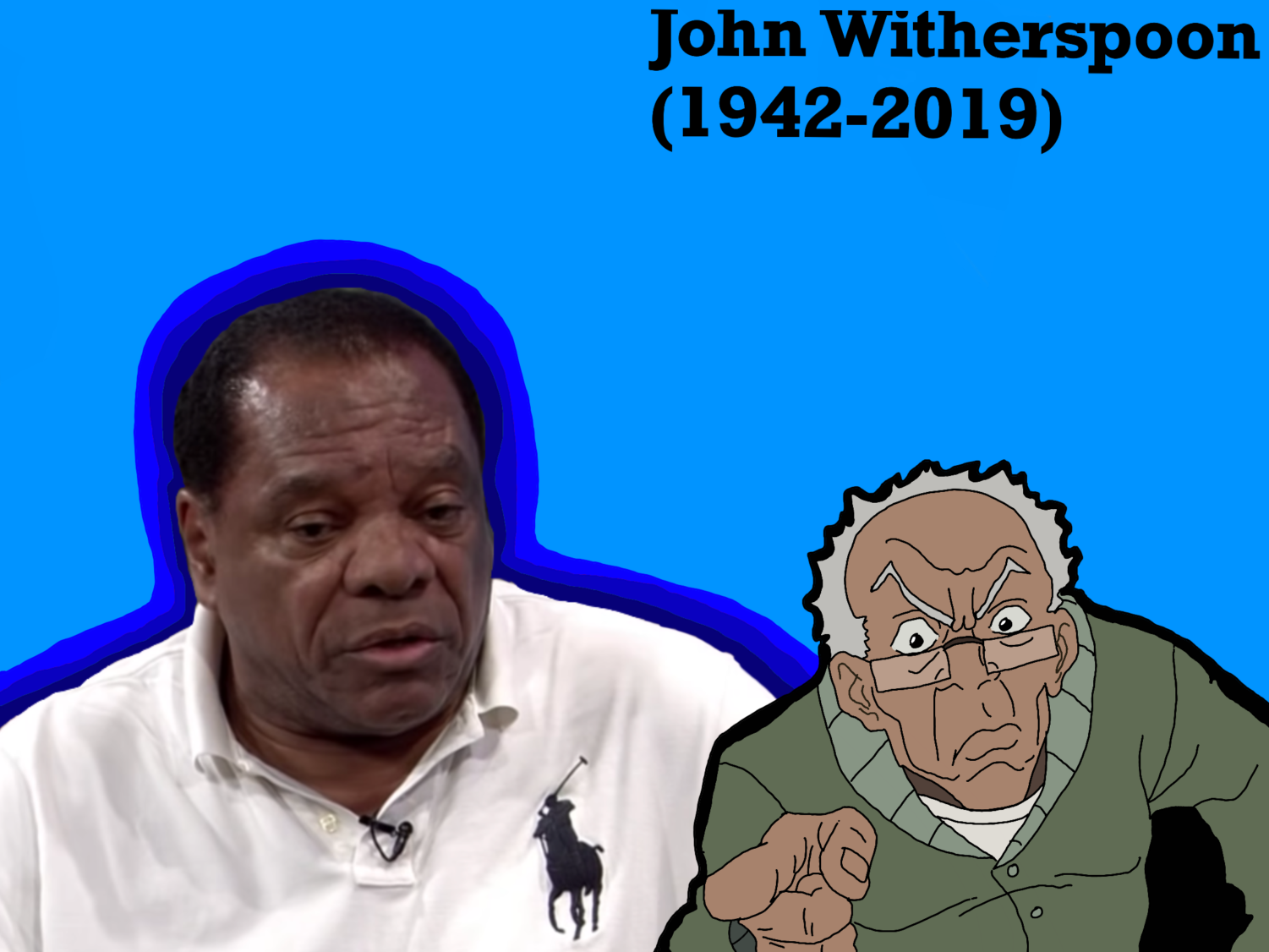 """Actor and comedian John Witherspoon died in October. Witherspoon is best known for his role in the comedy film Friday (1995) and the adult animated sitcom """"The Boondocks"""" (2004-2014)."""