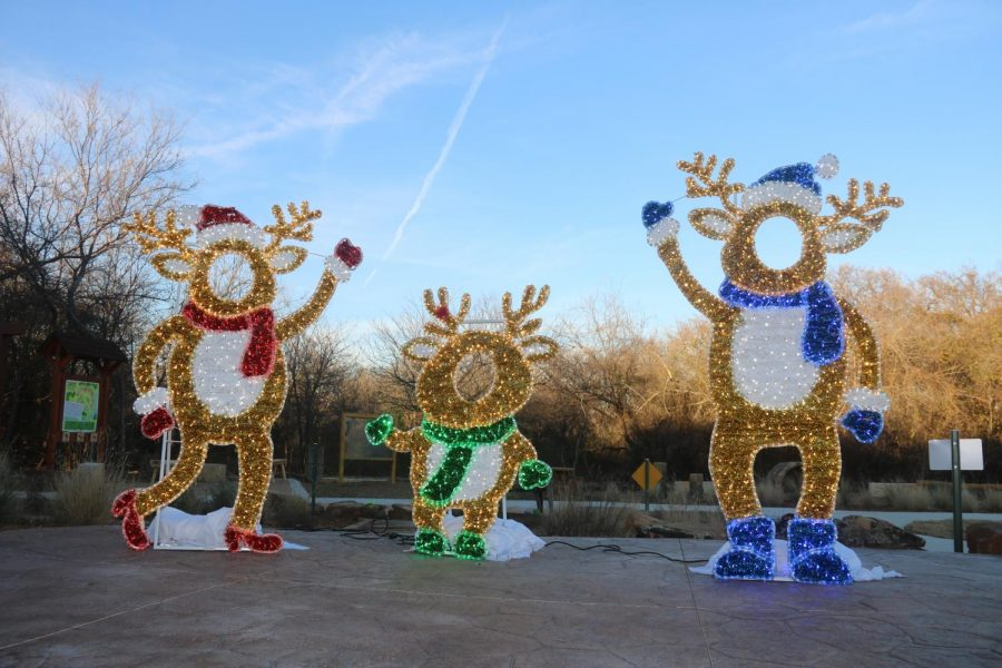 Reindeer are a part of the holiday scavenger hunt run by the City of Coppell through Jan. 3. Clues for the scavenger hunt can be found online at the city's website.