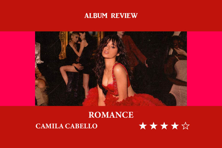 Camila+Cabello+released+her+sophomore+album%2C+%E2%80%98Romance%E2%80%99%2C+on+Friday.+The+album+was+made+to+%E2%80%9Csound+like+what+falling+in+love+feels+like%E2%80%9D+and+was+preceded+by+her+No.+1+collaboration+with+Shawn+Mendes%2C+%E2%80%9CSe%C3%B1orita%E2%80%9D.+