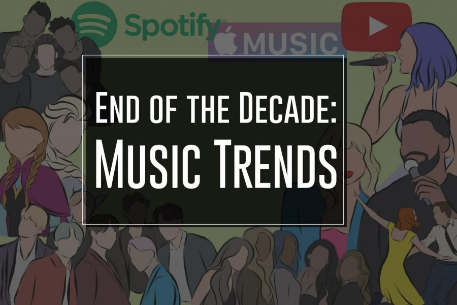 The Sidekick entertainment editor Shravya Mahesh reviews music within the decade. She discusses how music changed over time and memorable artists in this decade.