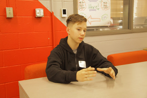 CHS9 student Coodrin Cristocea moved from Germany this August. Cristocea was CHS9's September Student of the Month.