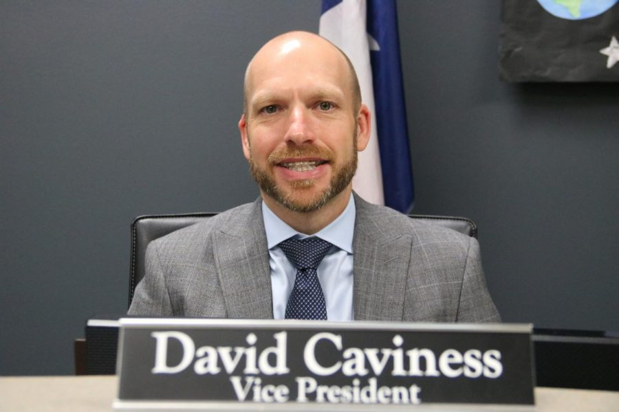 Caviness using financial background to aid school board