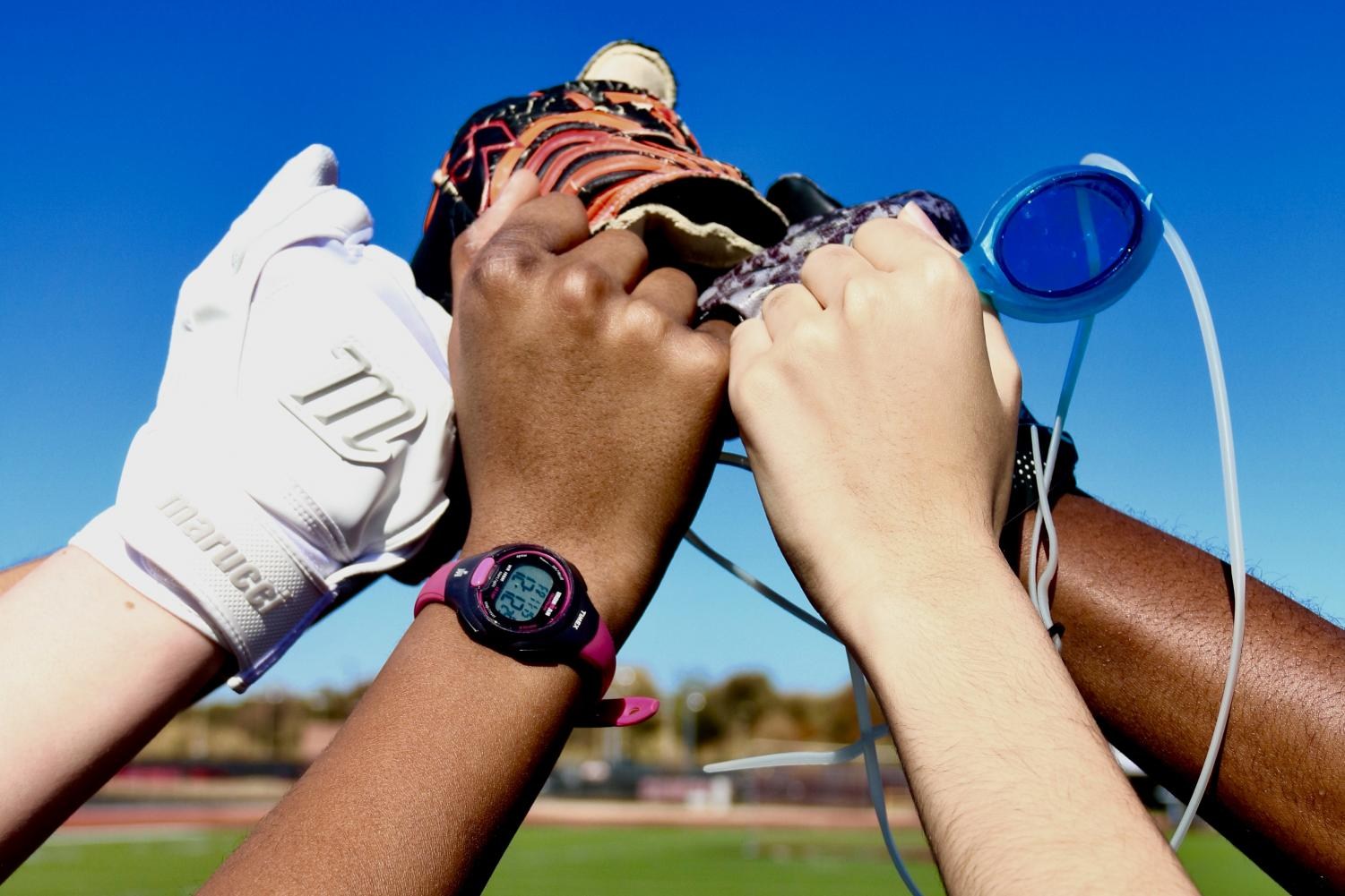 Sports such as softball, cross country, soccer, swimming and football all have races that are stereotyped as participants. These racial patterns can be seen both on a professional and high school level.