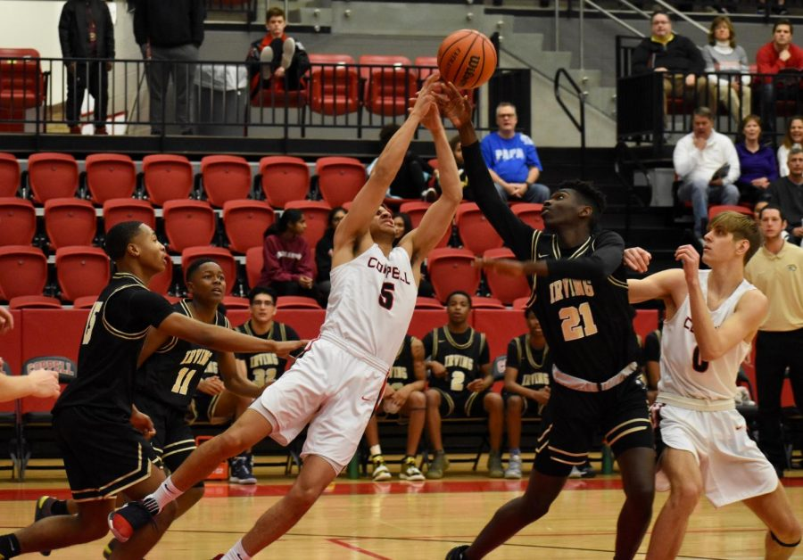 Cowboys sweep Irving Tigers, 61-54