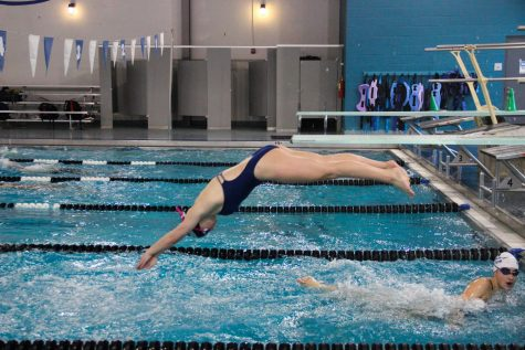 Emerging as tenacious swim captain