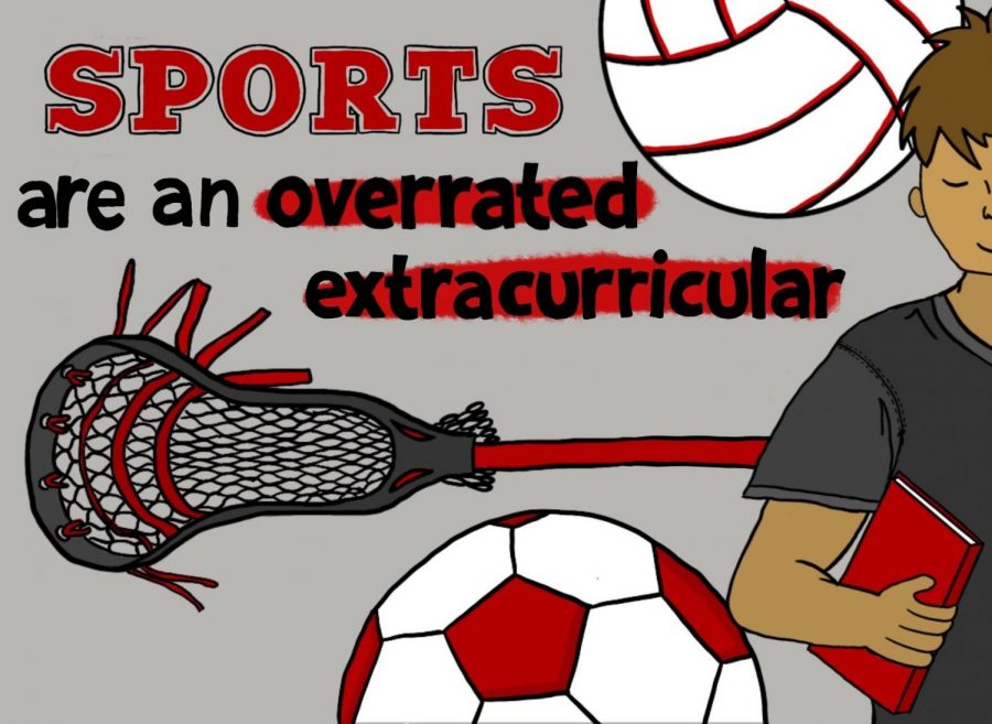 Sports are common extracurriculars at Coppell High School. The Sidekick staff writer Akif Abidi believes that, though sports are valuable activities for students, its importance can sometimes be overrated.