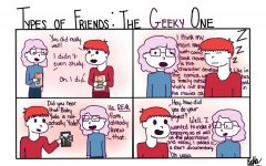 "The Sidekick Strip #17- ""Types of Friends: The Geeky One"""