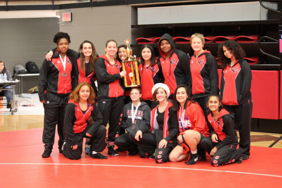 The+Coppell+wrestling+team+won+the+Santa+Slam+at+the+CHS+Arena+on+Dec.+22.+The+team+travels+to+the+Houston+Westside+Chicken+Wing+Tournament+from+Jan.+10-11.+