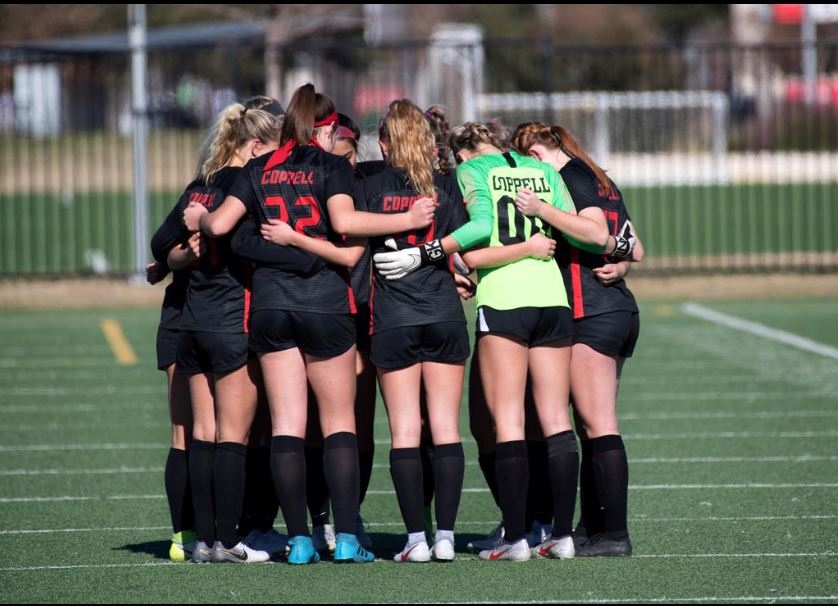 The Coppell girls soccer team placed first in the Dr. Pink Tournament in Frisco, which took place from Jan. 2-4. The Cowgirls travel to Fort Worth for the Brewer Tournament from Jan. 10-11.