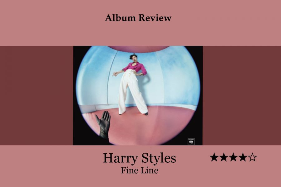 Harry Styles' latest album Fine Line showcases various genres of music on each track, as he tries to discover his own persona outside of being a member of One Direction. Although Styles has long ways to go in emanating a rock star persona, the album still demonstrates his potential for creating a unique image.