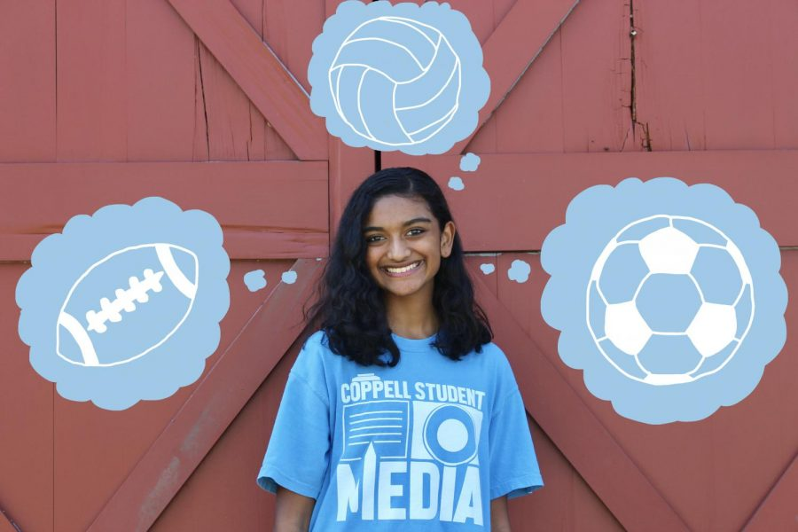 Today is Student Press Freedom Day, a day which recognizes the rights of student journalists. The Sidekick executive sports editor Sally Parampottil explains the role of sports reporting in her changed perception of student athletes. Photo illustration by Bella Mora.