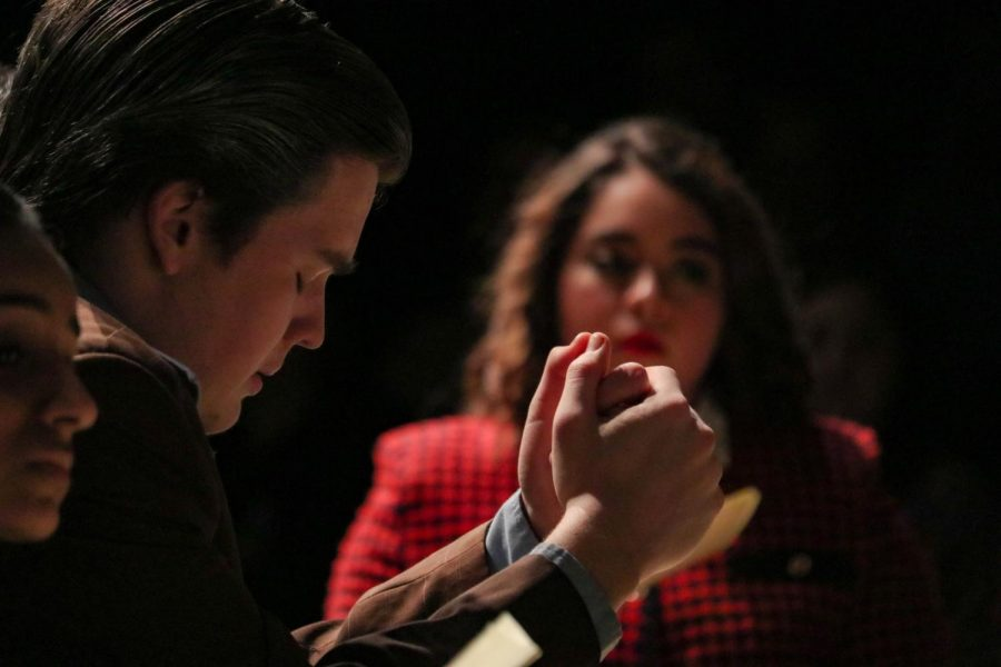 New+Tech+High+%40+Coppell+senior+Ryan+McCord+plays+Juror+10+in+the+Coppell+High+School+student-directed+play+%E2%80%9C12+Angry+Jurors%E2%80%9D+on+Feb.+21+in+the+CHS+Black+Box.++The+play+follows+the+story+of+12+jurors+who+need+to+make+a+unanimous+decision+about+a+capital+murder+case+suspect.%0A