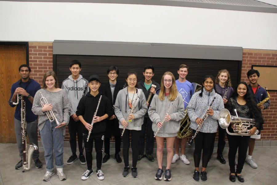 Thirteen+members+of+the+Coppell+High+School+Band+are+in+San+Antonio+to+perform+with+other+All-State+musicians+through+Saturday.+These+13+students+have+been+selected+along+with+approximately+1700+students+to+perform+in+an+ensemble+at+the+Texas+Music+Educators+Association+%28TMEA%29+Clinic%2FConvention+in+front+of+thousands+of+people.+Photo+by+Camden+Southwick