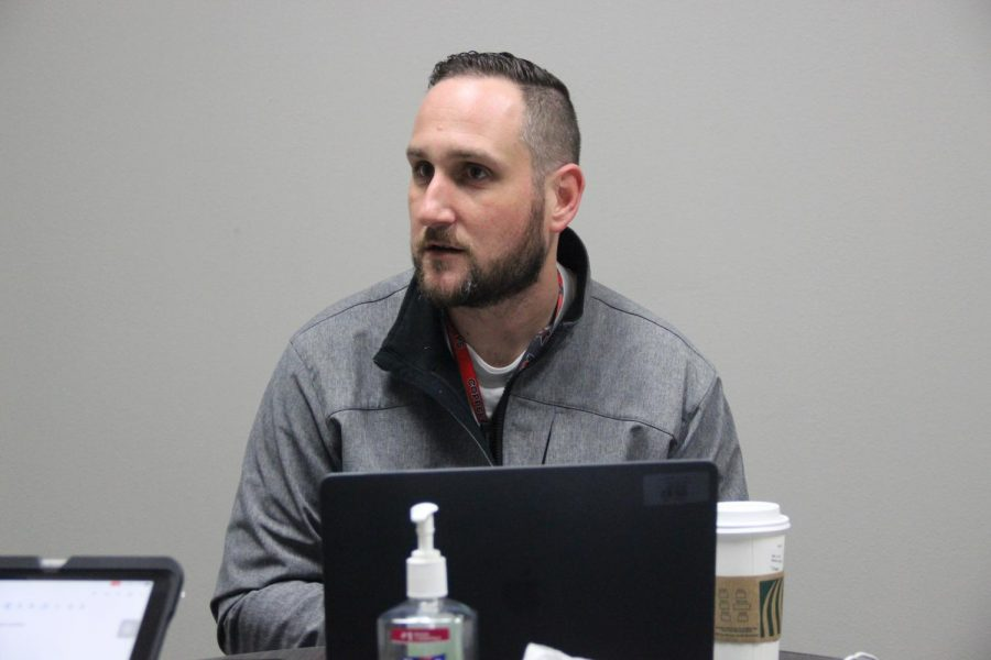 Assistant+principal+Chase+Vaughn+is+leaving+Coppell+High+School+after+three+stints+in+Coppell+ISD.+Vaughn+is+taking+a+job+with+GL+Education%2C+a+global+provider+for+assessments.