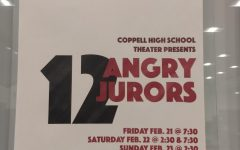 Student-directed 12 Angry Jurors opening to audience