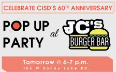 CISD to host pop up party at JC's Burger Bar
