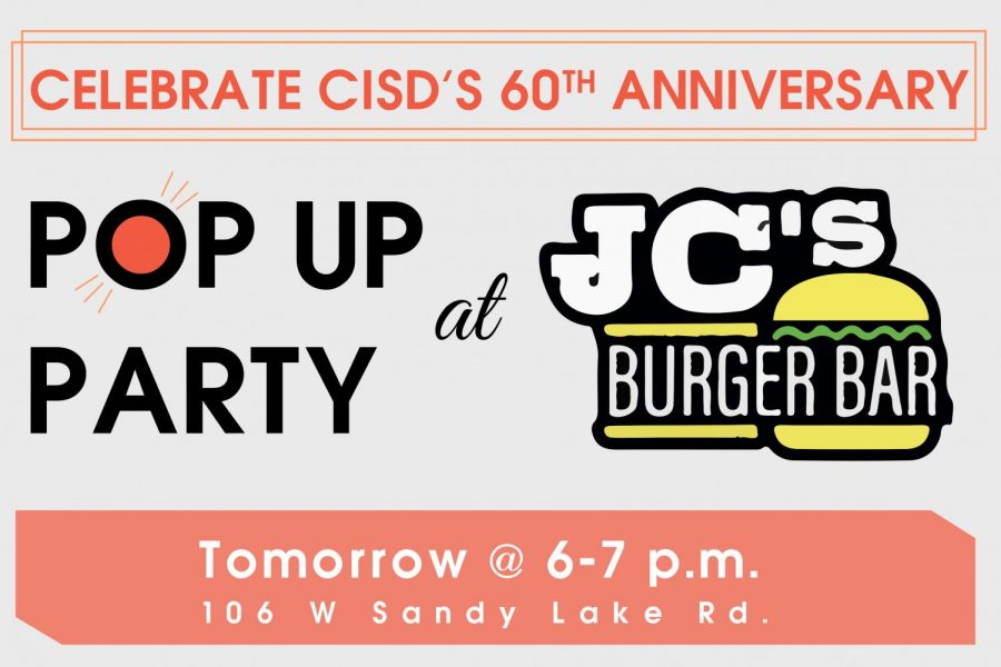 CISD+to+host+pop+up+party+at+JC%E2%80%99s+Burger+Bar