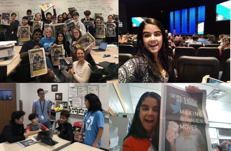The+Sidekick+CHS9+Editor+Shivi+Sharma+discusses+her+experiences+in+journalism+on+The+Sidekick+newspaper.+Scholastic+Journalism++Week+celebrates+student+journalism+globally+and+takes+place+this+year+from+Feb.+24+to+Feb.+28.+
