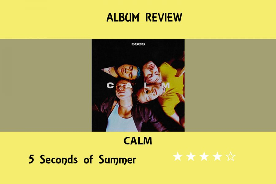 Pop-rock+band+5+Seconds+of+Summer+released+its+fourth+album%2C+CALM%2C+on+Friday.+Upon+releasing+three+albums+prior+with+different+styles%2C+social+media+manager+Anika+Arutla+talks+about+its+growth+through+the+years.+