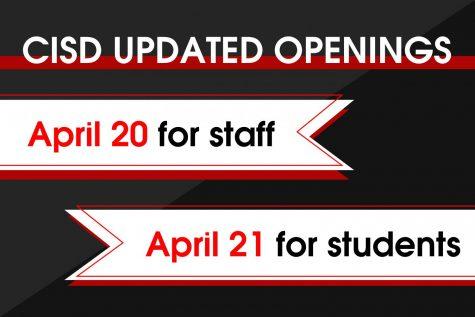 CISD extends closure through April 19